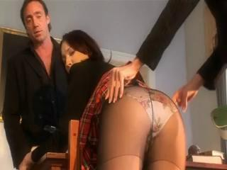 Naughty Schoolgirl Punished