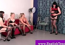 drag queen spanked by dominatrixes