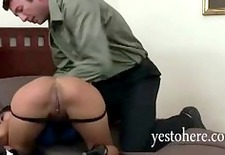 asian gaia spanked and throatfucked by angry husband