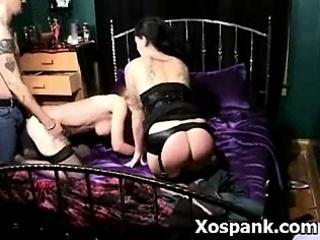 Wild Naughty Gal In Amazing Spanking Fetish Porn