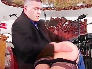 Spanking The Old Fashioned Way 2 - Scene 2