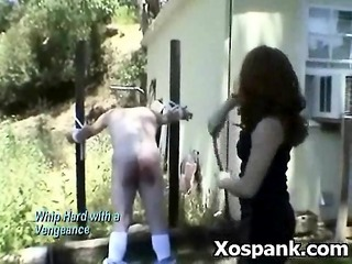 pervert chick fancying bdsm spanking