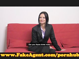 FakeAgent teacher takes a spanking
