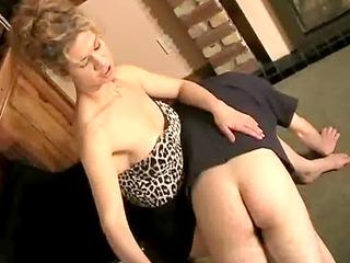 spanking the slave