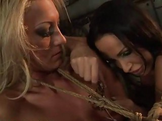Hot mistress punishing slavegirl