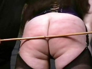 Hardcore english caning and submission of nimue