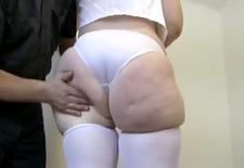 spanking huge phat booty