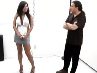 Kinky chica enemas spanking and hogtie bondage xlx