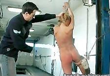 Hardcore bondage and brutal punishement part5