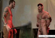 billy santoro hogtied and whipped publicly