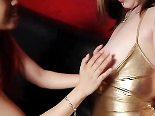 Girls Spanking Girls - Scene 3