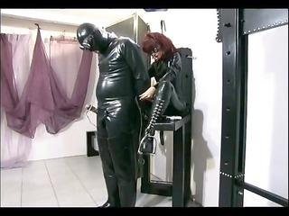 hot mistress tortures her slave