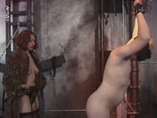 Nasty mistress whipping and humilliating