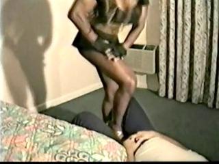 ebony mistress jazzmon ball busting brutality - rts