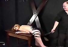 small tits lady spanked and teased by her master bdsm bondage slave femdom domination