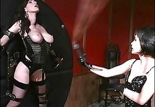 hardcore hos spanking pussy while bound