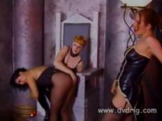 Hot Mistress Lark And Her Helper Michelle Gabrielle Tie Up Insubordonate Slave Sonja Red To A Cross And Spank Her Like A Whore She Is Until She Cries