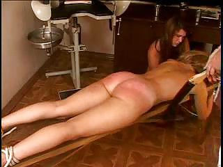 BDSM Blonde Gets Spanked