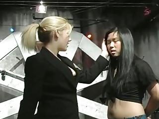 Punishment on tender titties