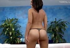 Horny slut spanking hard
