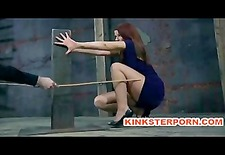 Slave Sarah Blake Pervert BDSM in Bizarre Nail Bondage