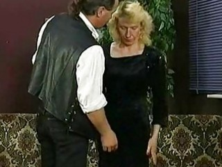 Boss pulls up skirt of his secretary and spanks her on her a