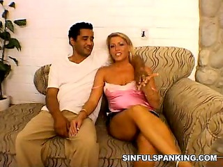 horny spanking couples