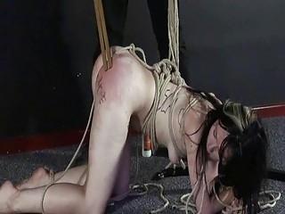 Amateur slavegirl Fae Corbin punished