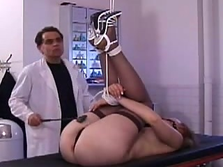 Painful Spanking for tied up Alice