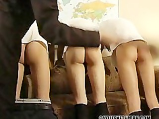 three boys get punished