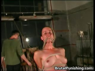 Hard core bondage and brutal punishement part3