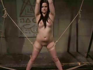 Mitress punishing sexy young girl