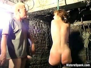 sex victim blonde is one mature slut