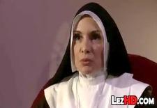 Nun Getting Spanked Hard