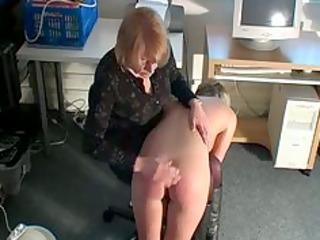 bend over blondie