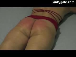 Flogging real Painful Ass of milf Julia