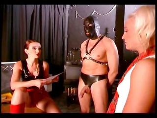 slave girl getting a good treatment