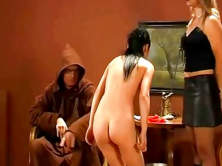 hard spanking and whipping - apprentice