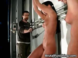 Hardcore bdsm and brutal punishement part5