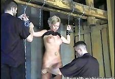 Hard-core bondage and brutal punishement part6