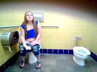 thick bitch in blue pee poop and whipe