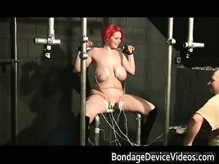 chubby redhead slut with big tits gets part1