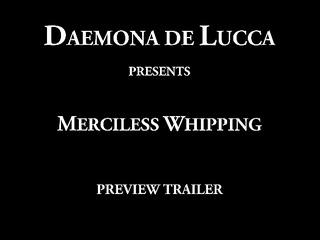 daemona - merciless whipping (trailer )