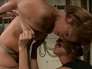 Szilvia Lauren getting bondaged and punished