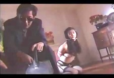 Asian Teens In Stockings Tied And Spanked