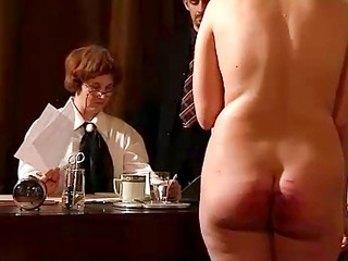 hard spanking and whipping &detention house 4