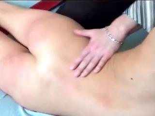 cute blonde schoolgirl gets booty