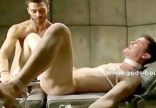 Patient has his cock bound